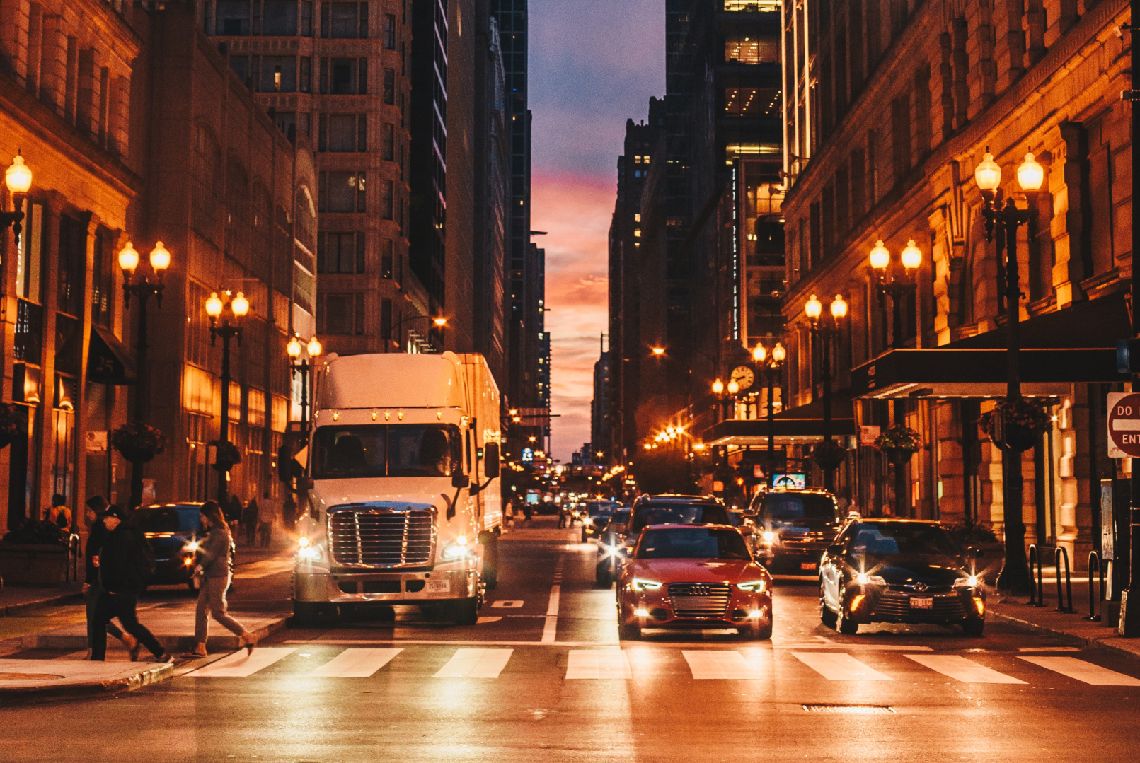 Tips On Truck Driving Through Big Cities